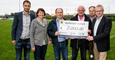 LEADER Oberinnviertel-Mattigtal spendet € 2.000,-- für Hochwasseropfer!