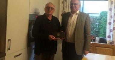 Appel Helmut gewinnt den Preis aus St. Pantaleon