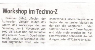 Workshop im Techno-Z