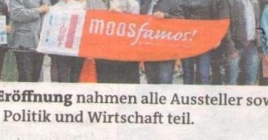 """Das Projekt """"Moos famos"""" startete mit einem Moosstraßenfest"""