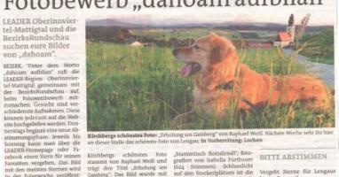 Kirchbergs schönstes Foto ist gekürt!