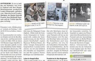 """Das LEADER-Filmprojekt """"Heldenzeitreise"""" ist fertig"""