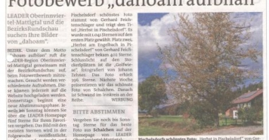 Pischelsdorf schönstes Foto steht fest!
