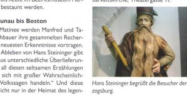 Hans Steininger, der Mann mit dem langen Bart