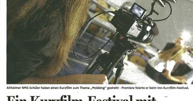 INN Kurzfilmfestival startet mit professioneller Schüler-Arbeit