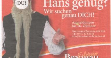 Einstiger Stadthauptmann Braunaus wird wieder zum Leben erweckt