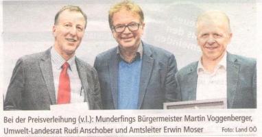 """""""W""""underfing erhielt Umweltpreis"""