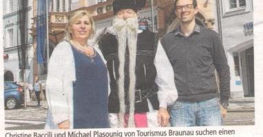Der Tourismusverband Braunau sucht ...