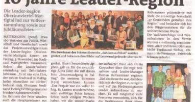 10 Jahre LEADER-Region