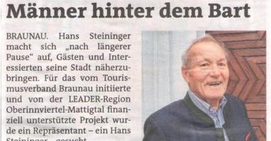 Die Männer hinter dem Bart von Hans Steininger