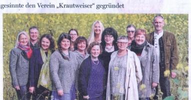 """40 Gleichgesinnte haben den Verein """"Krautweiser"""" gegründet"""