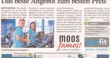 Moos famos stellt vor: Purfit Mattighofen