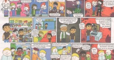 Comic am laufenden Band