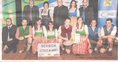 Der Landjugend-Kreisel ging an die Braunauer Bezirksgruppe