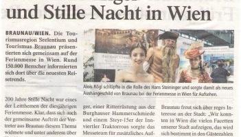 Hans Steininger und Stille Nacht in Wien
