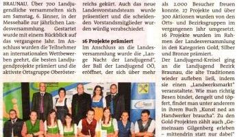 Landjugend-Kreisel für Braunau