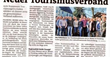 Neuer Tourismusverband im Bezirk