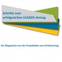 Titelbild Broschüre Schritte zum erfolgreichen LEADER-Antrag