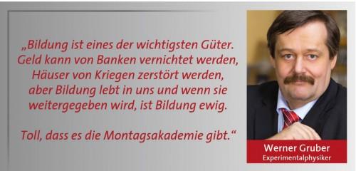 Zitat Gruber