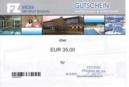 Braunau BäderGutschein