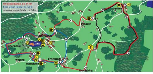 Route Bauerngolf